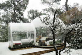 Vivere in una bolla: le case bubble