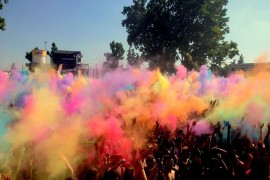 50 SFUMATURE DI COLORI: Holy Dance Festival 2015