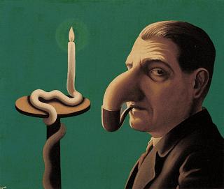 "R. Magritte, ""Il lume filosofico"", 1936"
