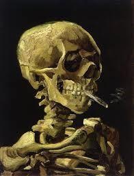 Vincent Van Gogh, Teschio con sigaretta accesa, 1885, Rijksmuseum Museum, Amsterdam