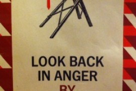 LOOK BACK IN ANGER- Ricorda con rabbia