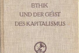 Weber, il Marx borghese. Un assaggio