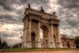 L'Arco della Pace di Milano