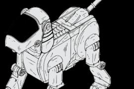 Spot, il cane robot che va dappertutto (e porta pure i regali)