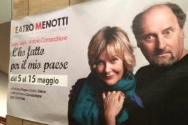 """""""L'ho fatto per il mio paese"""" al Teatro Menotti"""