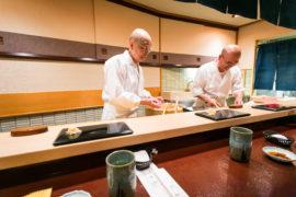 Jiro Ono e la sua miniera di sushi