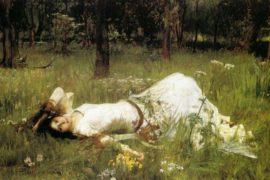 J.W. Waterhouse e i tre ritratti di Ofelia