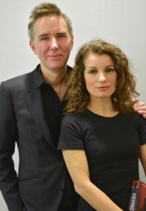 Alexander Ahndoril e Alexandra Coelho Ahndoril