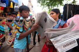 """Balaknama, il """"giornale dei bambini"""" di New Delhi"""