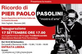 Ricordo di PIER PAOLO PASOLINI
