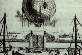 Andreani e il primo volo italiano in mongolfiera