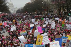 Per i diritti delle donne e contro la deriva sessista di Trump: Women's March