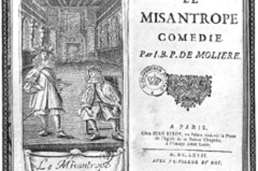 """Il misantropo"" di Molière"