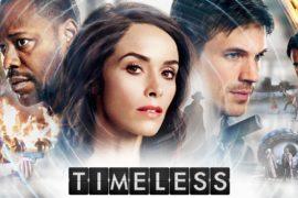 """TIMELESS: LA SERIE TV """"SENZA TEMPO"""""""