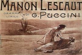 PLOT OPERA: MANON LESCAUT, ANGELO TENTATORE