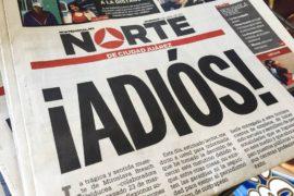¡ADIOS!: chiude il giornale messicano Norte dopo la morte di un altro giornalista