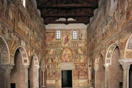 I magnifici affreschi dell'abbazia di Pomposa