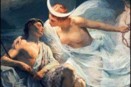 Endimione: l'uomo che fu amato dalla Luna