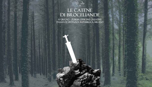 """L'11 giugno vi aspetta mago Merlino: """"Le catene di Broceliande"""""""