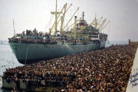 Le navi dei migranti: ieri come oggi