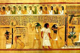 Teorie sull'esistenza del teatro nell'antico Egitto