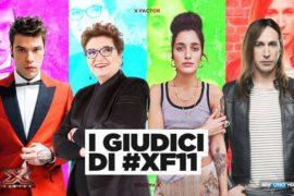 X Factor 11: assegnate le categorie ai quattro giudici