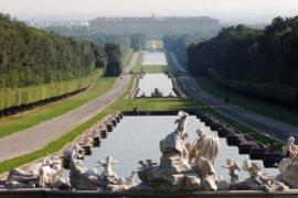 """La reggia di Caserta. """"Versailles italiana""""."""