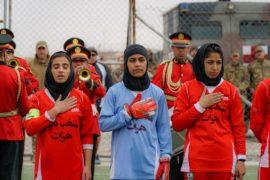 Il diritto delle donne di giocare a calcio in Afghanistan