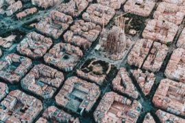 La Barcellona ultra moderna di Antoni Gaudì