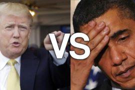 Obama vs Trump: davvero è il bene contro il male?