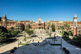 Recinto Modernista di Sant Pau: un ospedale patriomonio dell'Unesco
