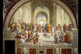 Foto di classe: la scuola di Atene