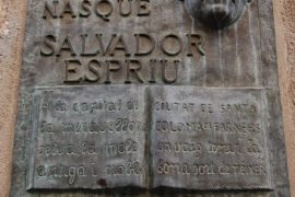 Salvador Espriu, un tributo alla cultura catalana