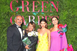 Livia Firth e i Green Carpet Fashion Awards