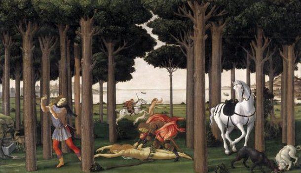 """La donna che non ha potuto dire """"no"""": la novella illustrata da Botticelli"""