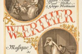 PLOT OPERA:  WERTHER, NATALE ROSSO SANGUE