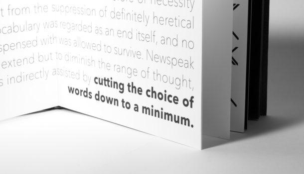Newspeak – La pericolosità del linguaggio
