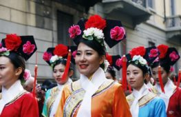 Il capodanno cinese in rosso: i modelli della tradizione