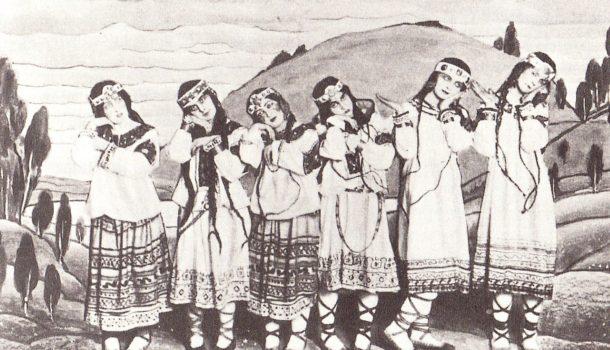 """Nikolai Roerich e i costumi per """"La Sagra della Primavera"""" di Stravinskij"""