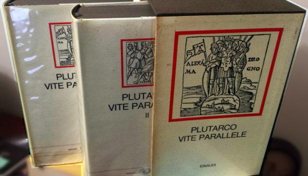 La biografia aneddotica di Plutarco: Vite Parallele.