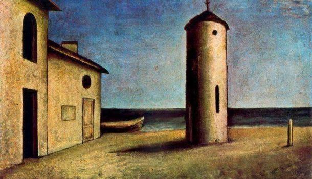 I paesaggi balneari di Carlo Carrà