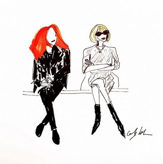 ICONS: Grace Coddington: la chioma rossa più famosa nella moda