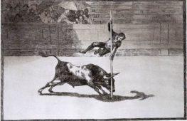La corrida nell'arte di Goya