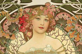 Le dame floreali di Mucha: la donna eterea si emancipa