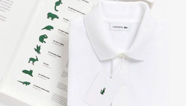Save our species, Lacoste abbandona l'iconico coccodrillo