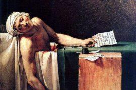 Jean-Paul Marat: la morte del rivoluzionario giacobita