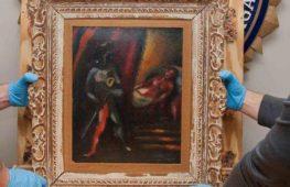 Otello e Desdemona di Chagall ritrovato dopo 30 anni