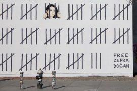 Free Zehra Doğan: il nuovo murale di Banksy a New York per la libertà d'espressione