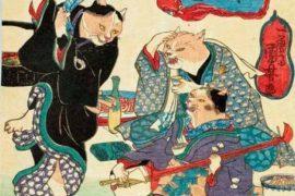 Il lato divertente di Kuniyoshi: la raffinatezza che ci strappa un sorriso