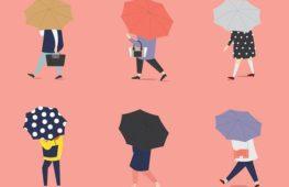 Ombrelli e design: stare all'asciutto non è mai stato cosi cool